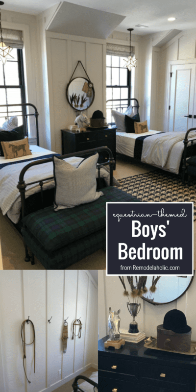 How To Create An Equestrian Themed Boys Shared Bedroom, Arive Homes And Brandalyn Dennis Design, 2018 Utah Valley Parade Of Homes, Featured On Remodelaholic