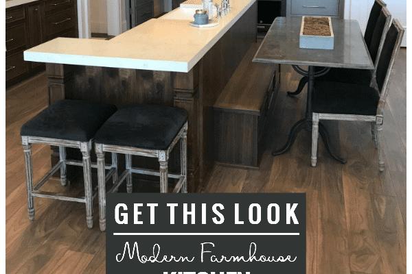 Get This Look: Two-Tone Modern Farmhouse Kitchen