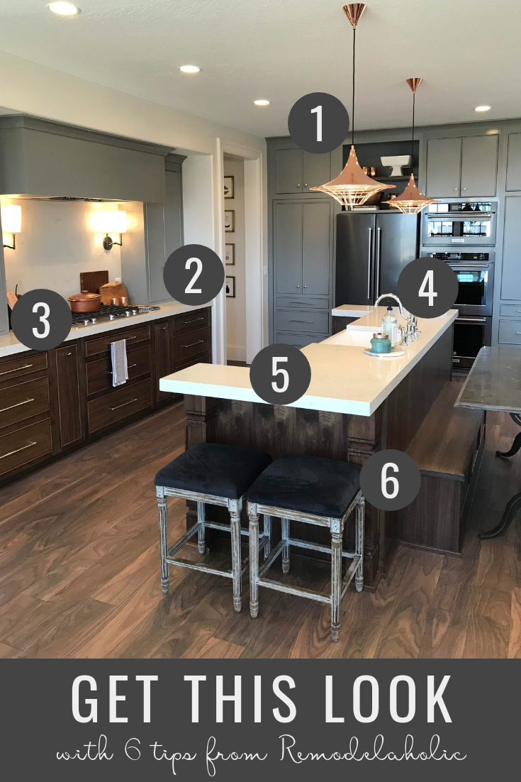 Remodelaholic Get This Look UVPH 2018 Arive Homes Kitchen