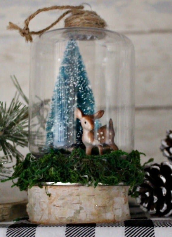 Michelle Our Crafty Mom Vertical Snow Globe Our Crafty Mom