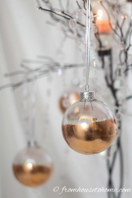Copper Diy Christmas Ornaments