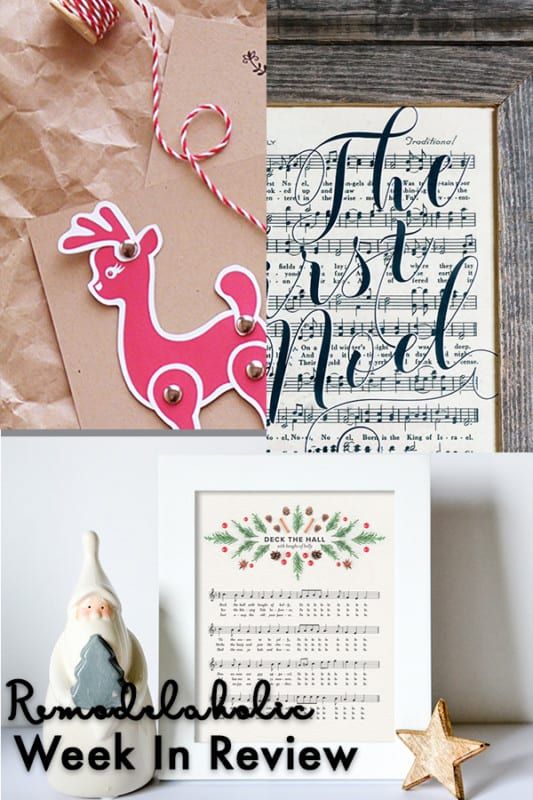 Week In Review: Terrific Gift Idea, Free Holiday Printables!