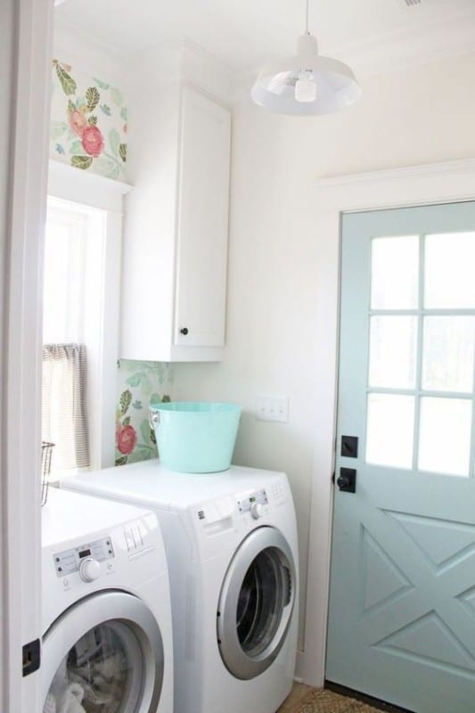 Real Life Rooms Basic Laundry Room Makeover To Add Storage And Character