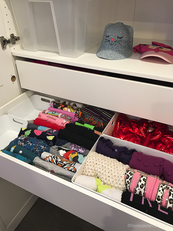 IKEA Closet Organizer, PAX Organizing Drawers @Remodelaholic 2