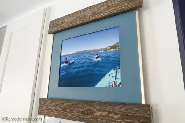 Large DIY Wall Decor Idea: Easy Diy Picture Ledge Prevents Photo Frames From Tipping And Falling