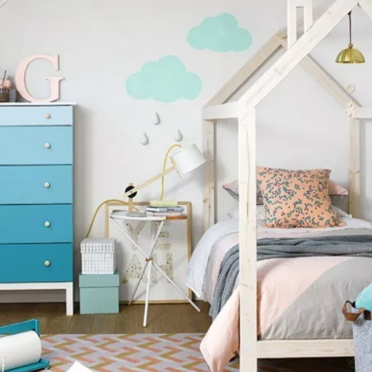Beautiful Rooms! How To Create A Gender Neutral Shared Kids' Bedroom
