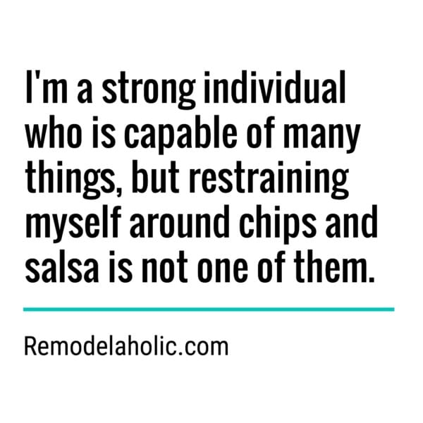 Chips And Salsa Meme Remodelaholic.com