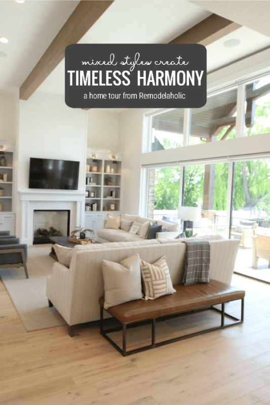 Come See This Traditional Home That Achieves Timeless Harmony By Mixing Design Styles Featured On Remodelaholic
