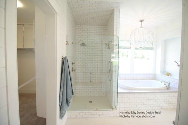 White Subway Tile Shower And Bath Surround Davies Design Build (169)