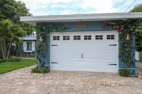 DIY Faux Garage Door Windows H2OBungalow 2