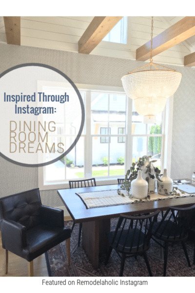 Instagram Dining Room Designs From Farmhouse To Modern