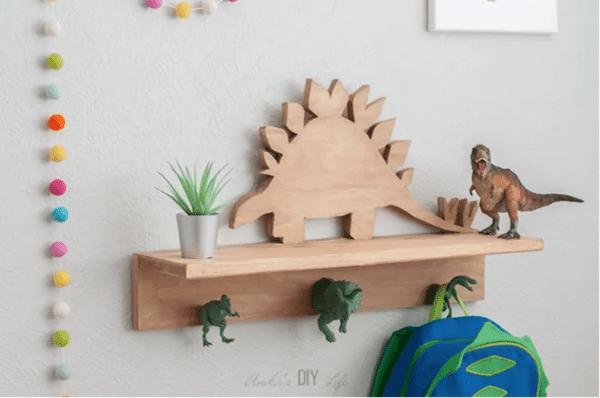 Dino Shelf Anika's DIY Life