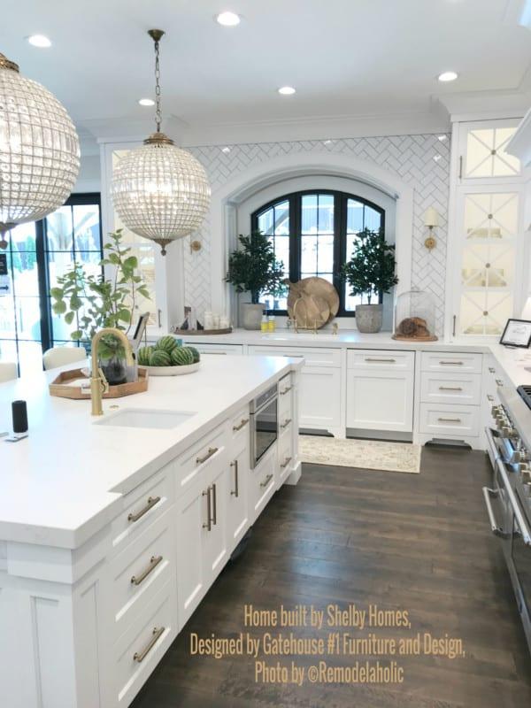 White Glam Kitchen Shelby Homes, Gatehouse No. 1 Furniture & Design (448).ed