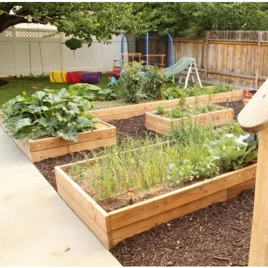 30 Raised Garden Bed Ideas + 25 Ideas For Gardening With Kids