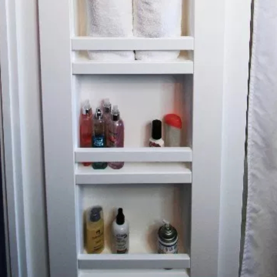 5.5 How To Build Recessed Shelves Between Studs In A Wall