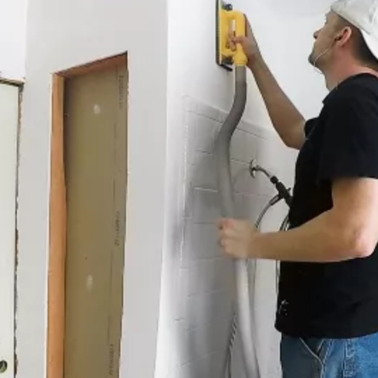How To Smooth Drywall Texture For Bathroom Built Ins