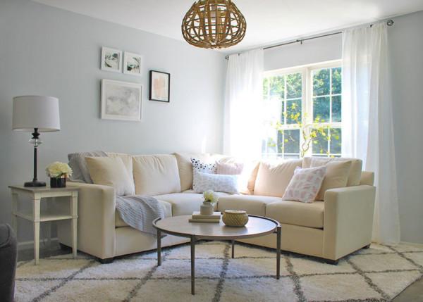 Light And Bright Living Room Makeover Bassett Furniture