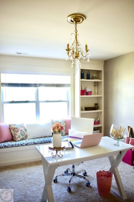 Southern Yankee DIY Office Reveal