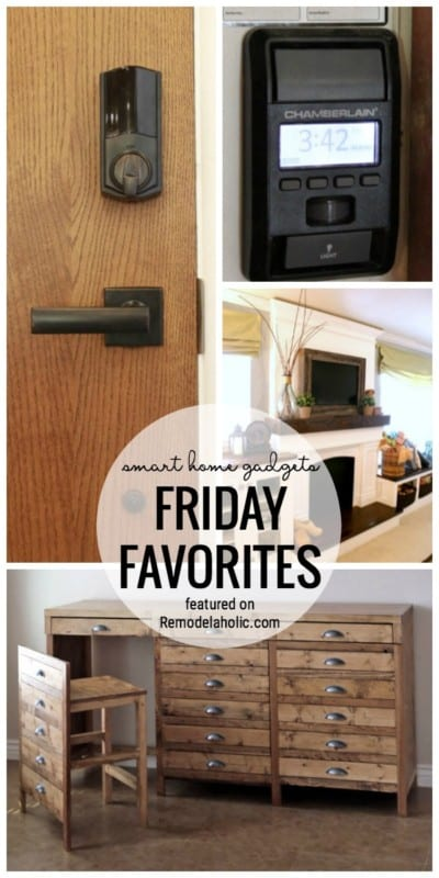 Technology Is Pretty Cool Sometimes, Especially Around The Home With Smart Home Gadgets. See Our Favorite Smart Home Technology Ideas Featured On Friday Favorites At Remodelaholic.com