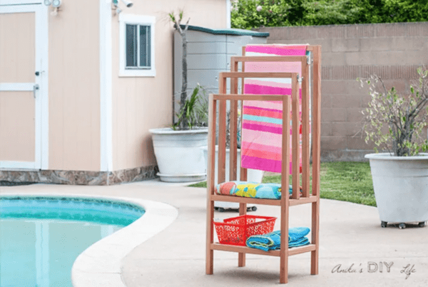 Towel Rack DIY Anikas DIY Life