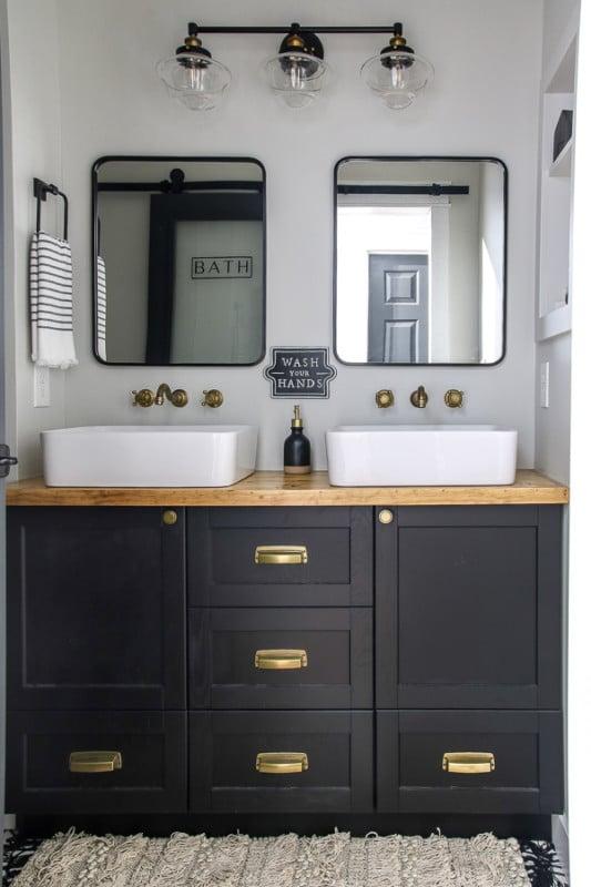 Living Letter Home Guest Bathroom Reveal