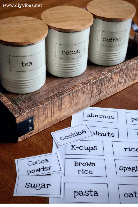 Pantrylabelscoffee 1