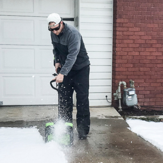 Electric Snow Shovel And Giveaway