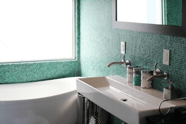 Jade Green Bathroom Tile