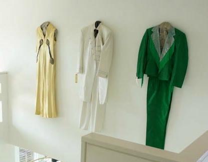 Jade Green Clothing As Wall Art