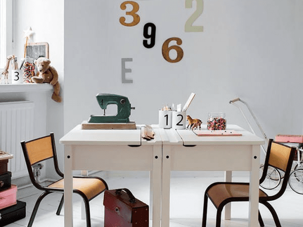 Kids Homework Station Ideas From IKEA Featured On Remodelaholic