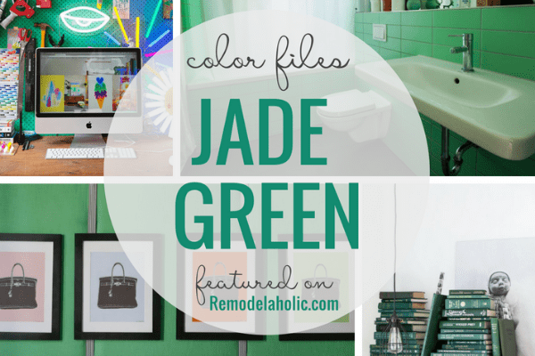 Decorating with Jade Green
