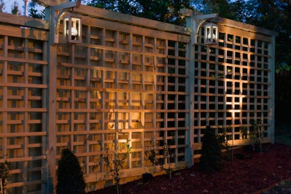 Garden Trellis With Solar Lights Kippi At Home
