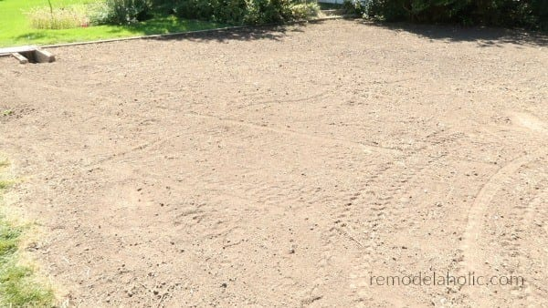 Grass Leveled For Sod Installation #remodelaholic Tips For Laying Sod