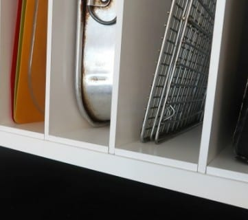 Diy Over The Fridge Cabinet Organizer, Ikea Kitchen Cabinet Hack #remodelaholic