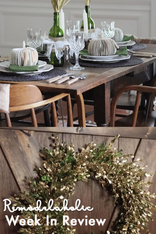 20+ Fall Decorating Ideas + 25 Unique DIY Fall Wreath Ideas