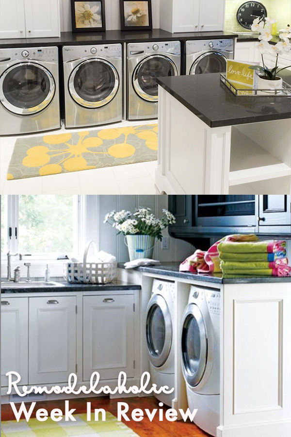 Remodelaholic Double Washer And Dryer Yes Please 100 Great Laundry Room Ideas