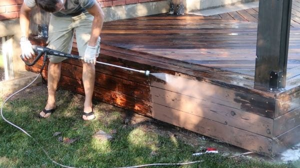 Restore Refinish Redwood Deck With Oil 005