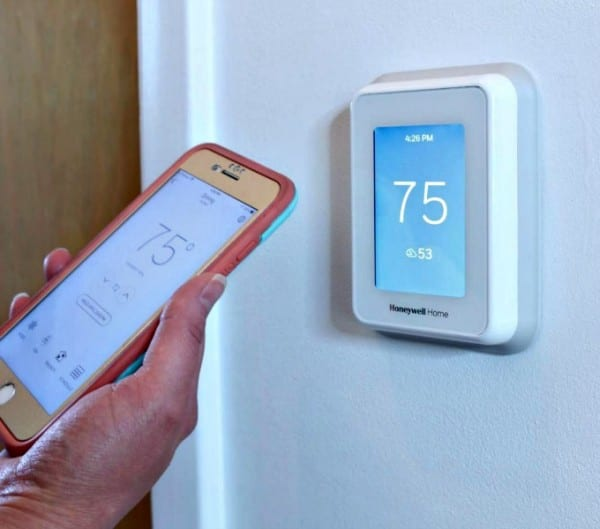 Smart Thermostat Setup #remodelaholic
