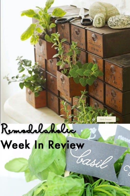 25 Fantastic Indoor Herb Garden Ideas + Herb Garden Chalkboard Labels