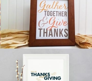 Happy November! Enjoy These Free Printables For Thanksgiving!