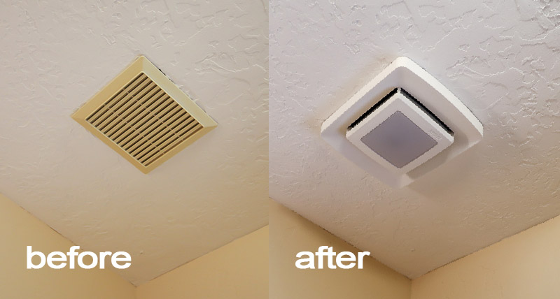 Remodelaholic Update An Existing Bathroom Exhaust Fan Cover
