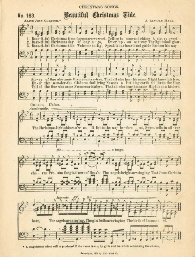 Beautiful Christmas Tide Sheet Music Printable Knick Of Time On Remodelaholic