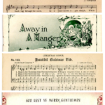 Printable Vintage Christmas Sheet Music For DIY Holiday Decor, A Collection From Remodelaholic