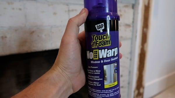 DAP No Warp Touch 'n Foam