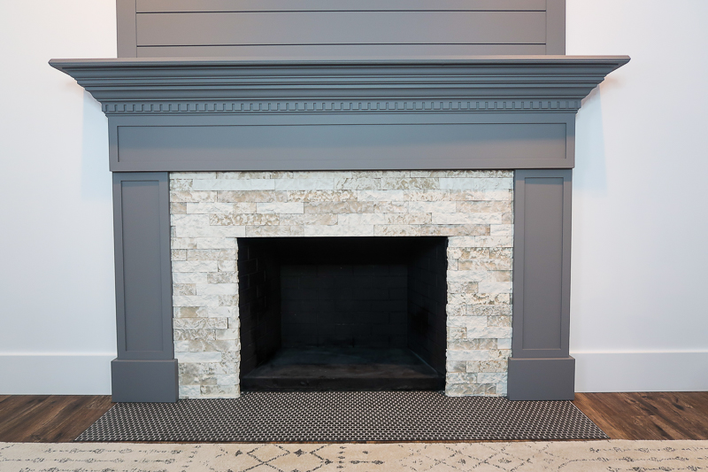 DIY Fireplace Makeover AirStone 2