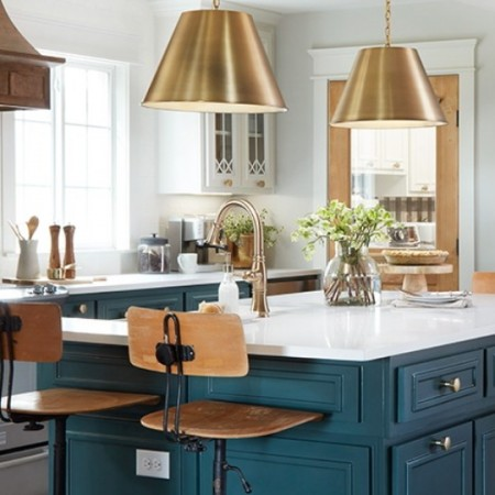 Get This Look Fixer Upper Plain Jane House Kitchen