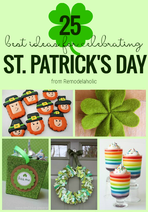 St Patricks Day Ideas From Remodelaholic