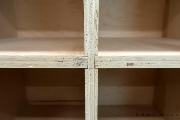 How To Make Diy Cubby Storage Using Plywood And Dado Joints, Remodelaholic