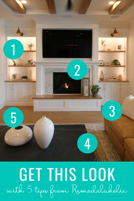 Get This Look: Neutral Modern Farmhouse Living Room Design and Decorating Tips