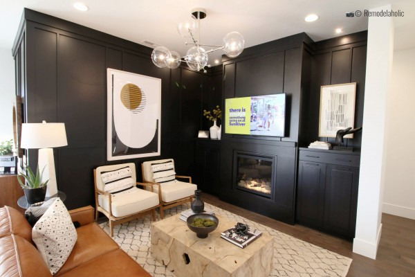 Conception de salon moderne. SGPH 2019 House 22 SunRiver Construction, LC, photo de Remodelaholic